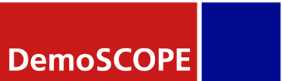 Logo Demoscope